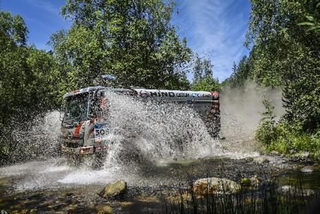 "Hino Team Sugawara Decides to Discontinue Racing in ""Silk Way Rally 2019"" ~Team ends its competition at the end of the SS of day 4~"