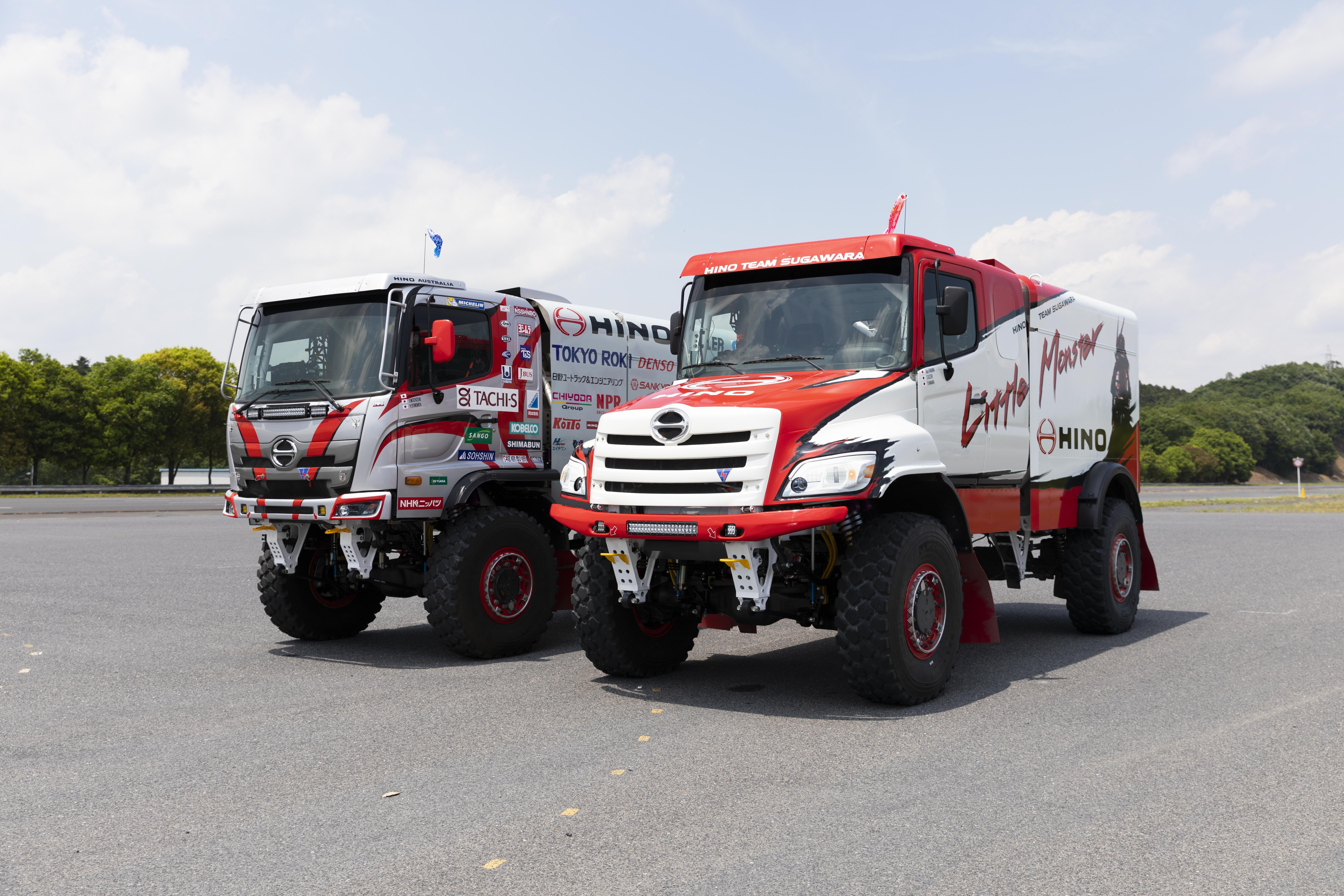 """Hino Team Sugawara"" Announces New Team Setup Aiming for Greater Heights"