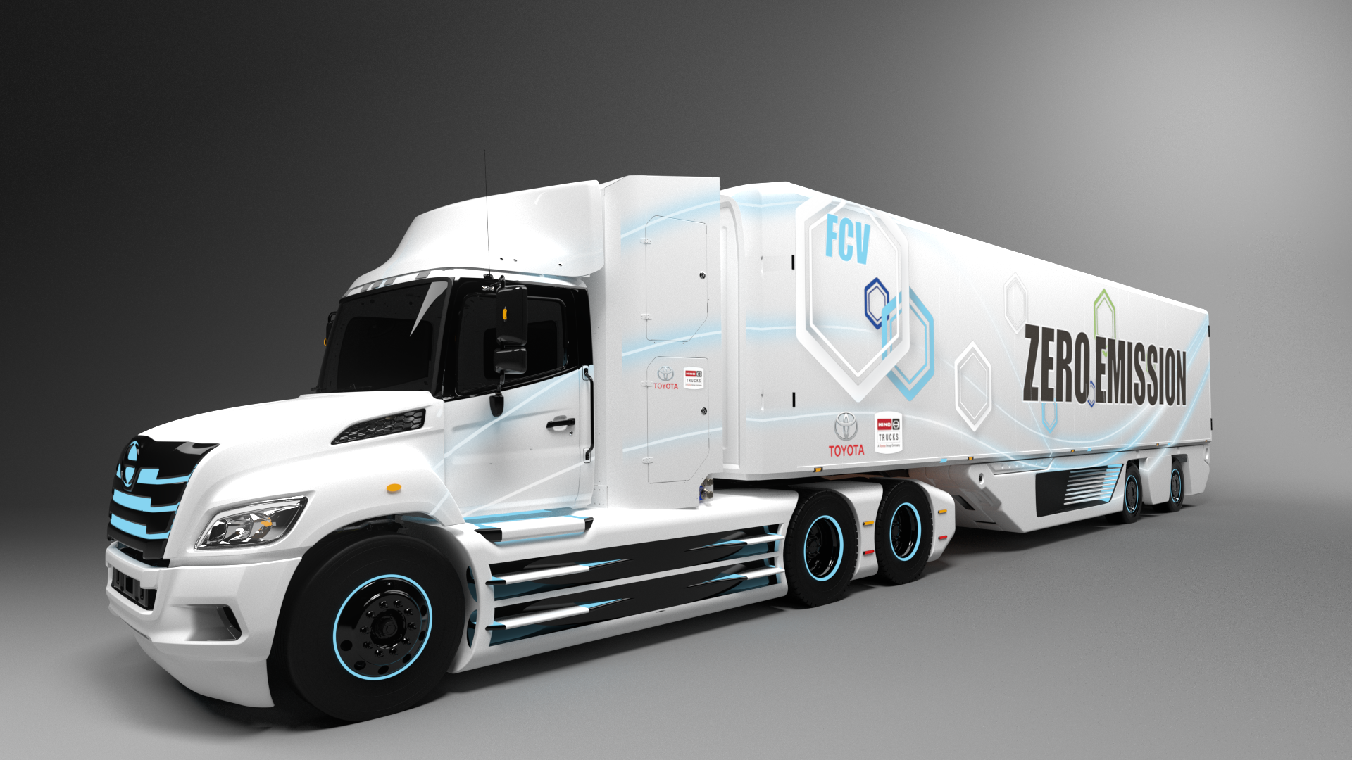 Toyota and Hino to Jointly Develop Class 8 Fuel Cell Electric Truck for North America
