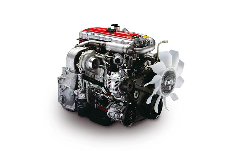 Industrial Diesel Engines | Products & Technology | HINO MOTORS